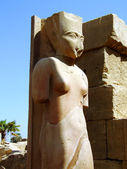 Karnak temple statue 06 — Stock Photo