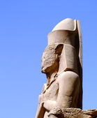 Karnak temple statue 09 — Stock Photo