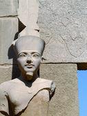 Karnak temple statue 03 — Stock Photo