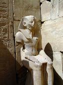 Karnak temple statue 07 — Stock Photo