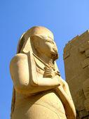 Karnak temple statue 01 — Stock Photo