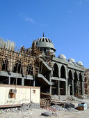 Mosque under construction 04 — Stock Photo