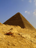 Pyramids of giza 22 — Stock Photo