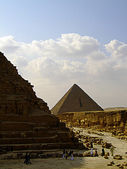 Pyramids of giza 23 — Stock Photo
