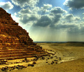 Pyramids of giza 25 — Stock Photo