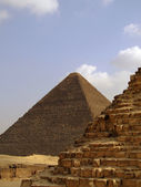 Pyramids of giza 33 — Stock Photo