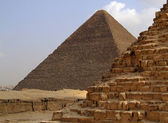 Pyramids of giza 34 — Stock Photo