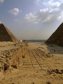 Pyramids of giza 31 — Stock Photo