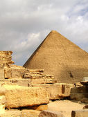 Pyramids of giza 39 — Stock Photo
