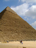35 吉萨金字塔 — 图库照片