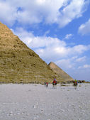 Pyramids of giza 36 — Stock Photo