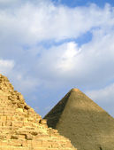 Pyramids of giza 37 — Stock Photo