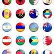 Flags of the world 01 — Stock Photo