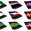 Stock Photo: World flag book collection 08