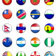 Flags of the world 09 — Stock Photo