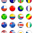 Stock Photo: Flags of world 03