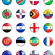 Flags of the world 04 — Stock Photo