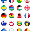 Stock Photo: Flags of the world 05
