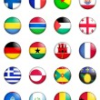 Flags of the world 05 — Stock Photo