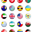 Flags of the world 13 — Stock Photo