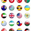 Stock Photo: Flags of the world 13