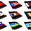 World flag book collection 23 — Stock Photo #2251991