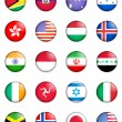 Flags of the world 06 — Stock Photo