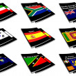 World flag book collection 26 — Foto de Stock