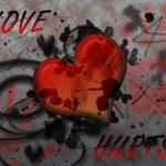 Love hurts — Stock Photo
