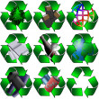 Royalty-Free Stock Photo: Various recycling
