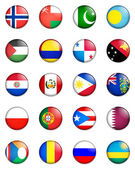 Flags of the world 10 — Stock Photo