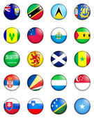 Flags of the world 11 — Stock Photo