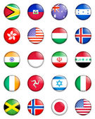 Flags of the world 06 — Stock fotografie