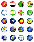 Flags of the world 14 — Stock Photo
