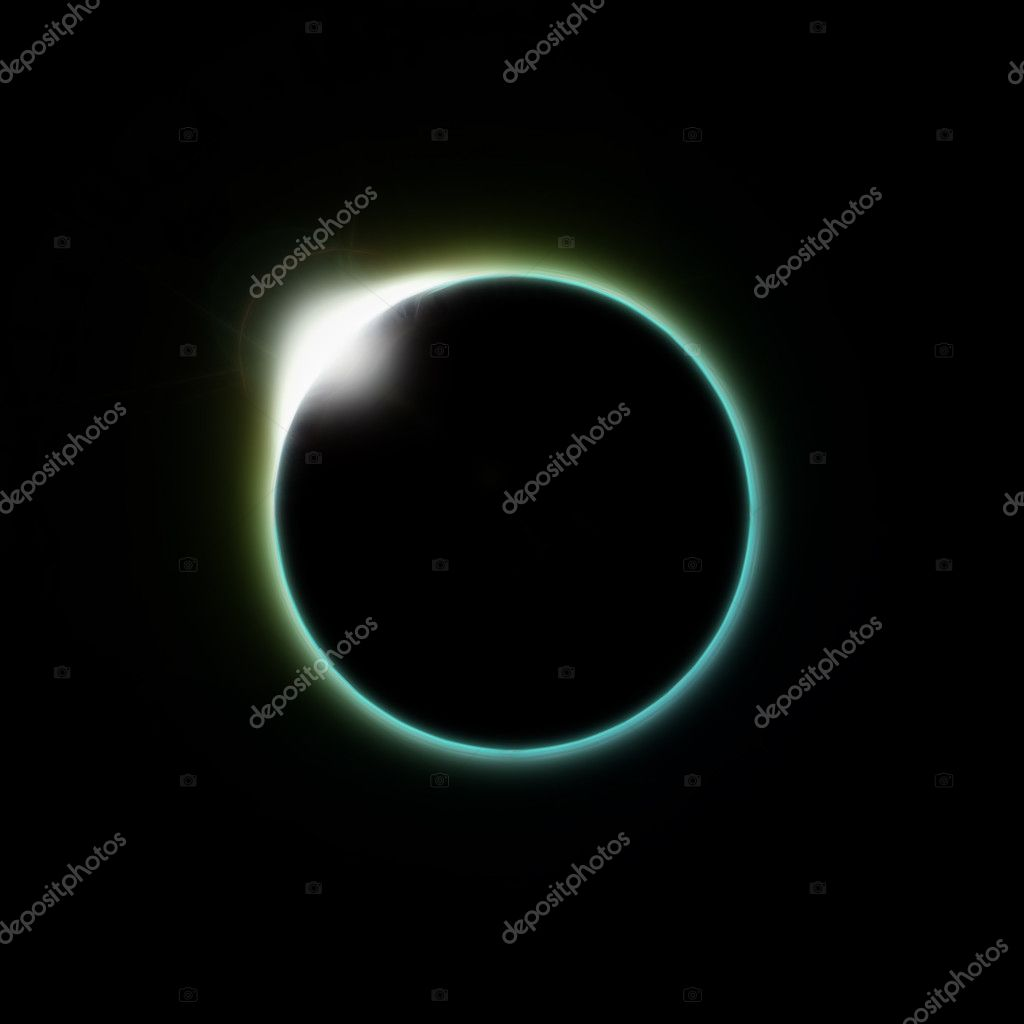 A solar eclipse of the moon as seen from space or the planet earth — Stock Photo #2252422