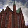 Aarhus church HDR 02 — Stock Photo