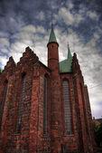 Aarhus church HDR 02 — Stock Photo