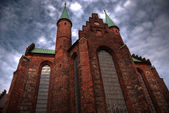 Aarhus church HDR — Stock Photo
