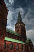 Aarhus church HDR 03 — Stock Photo