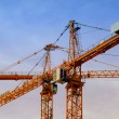 Stock Photo: Construction cranes 02