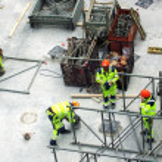 Malmo construction site 06 — Stock Photo #2300359