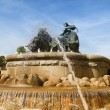Stock Photo: Gefion Fountain 08