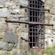 Stock Photo: Dungeon window outside