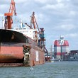 Drydock at gothenburg 03 — Stock Photo #2300996