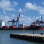 Gothenburg harbour — Stock Photo