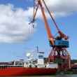 Stock Photo: Shipping industry crane 03