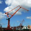 Stock Photo: Shipping industry crane 07