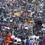 Bicycle city — Stock Photo