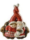 Mr and Mrs santa — Stock Photo