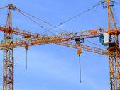 Stavební jeřáby 01 — Stock fotografie